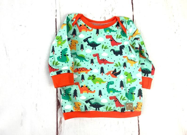 Baby shirt DINO long sleeve shirt sweater