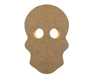 Skull wooden - paint or decorate