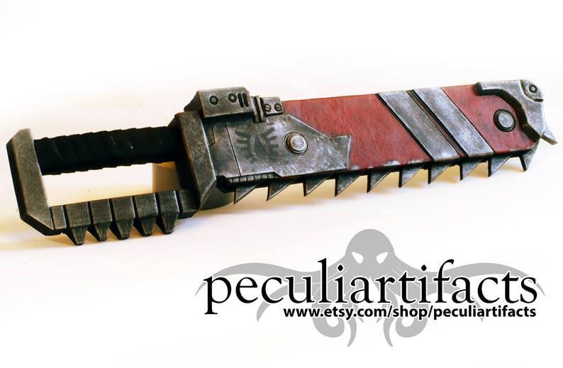 Cosplay  Warhammer 40k Space Marine Chainsword image 0