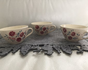 Set of 3 coffee cups