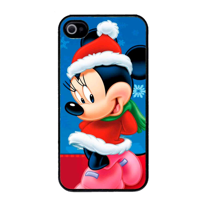 low priced 51750 59f42 Cute Disney Minnie Mouse Christmas Santa Outfit iPhone 7 / 7 PLUS/ 6/6s / 6  PLUS /5s/SE iPod 5/6 Case Cover