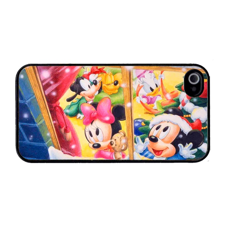 Cute Disney Characters Christmas iPhone