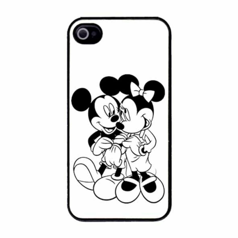 big sale 47460 469b8 Disney Mickey and Minnie Mouse iPhone 7 / 7 PLUS/ 6/6s / 6 PLUS /5s/SE iPod  5/6 Case Cover Gift Present