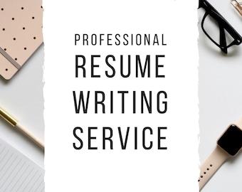 Resume writer - Etsy.