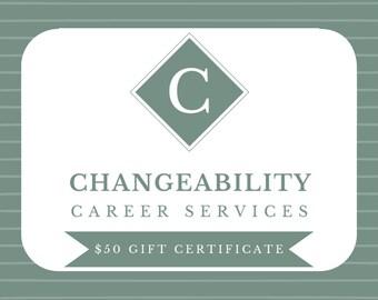 50 Dollar Gift Certificate for Designed By Joelaine