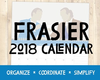 Frasier - 2018 Calendar