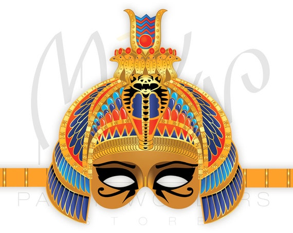 Egyptian Princess PRINTABLE Mask Ancient Egypt