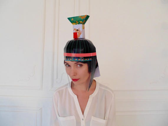 Egyptian Printable Mask Nephthys Goddess Nephthys Costume Etsy
