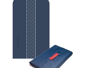 Blue Pocket Sejadah, Prayer Rug For Muslims, Prayer Mat, Portable Prayer Mat, Minimal Prayer Mat, Foldable Prayer Mat, Durable Prayer Rug