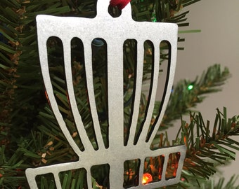 Disc Golf Basket Ornament