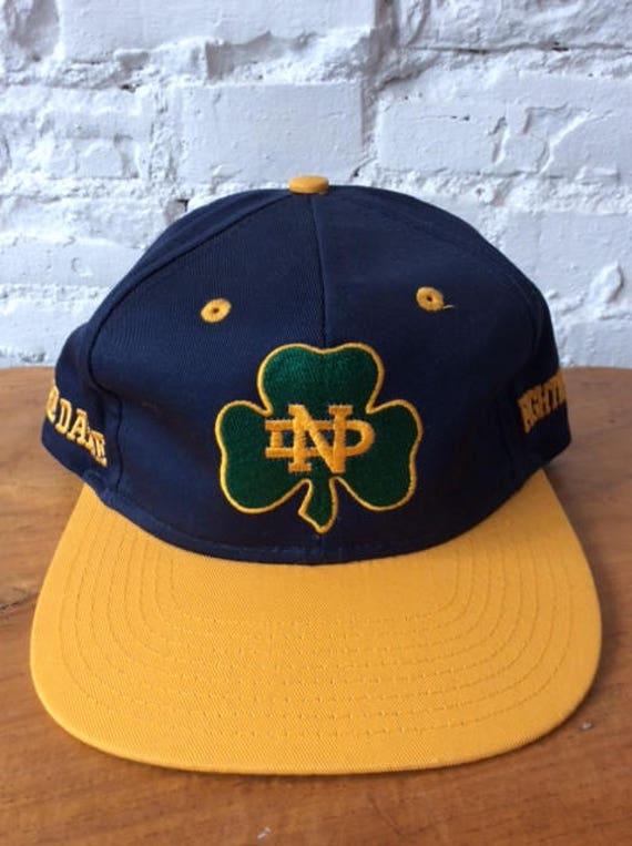 b92109a32e1ca ... netherlands vintage university of notre dame snapback hat fighting  irish 99794 ccf5c