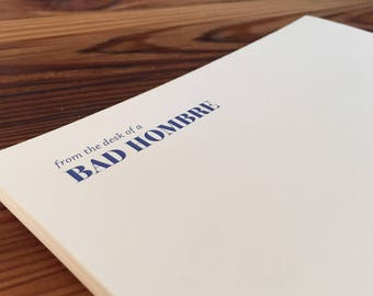Bad Hombre Stationery Set