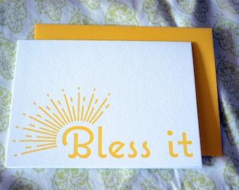Bless It Notecard