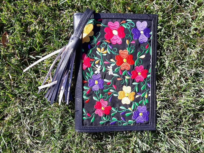 Summer Clutch Bag Handmade Mexican Clutch Bag Floral Embroidery Bag,Mexican Clutch Bag Envelope Mexican Clutch
