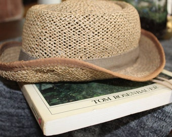 18df70c3614e0 Orvis Straw Sunhat and Vintage Orvis Fly fishing Guide