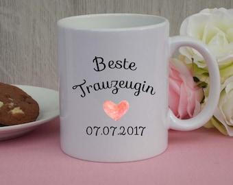 "Mug ""best maid""/mug/Wedding"