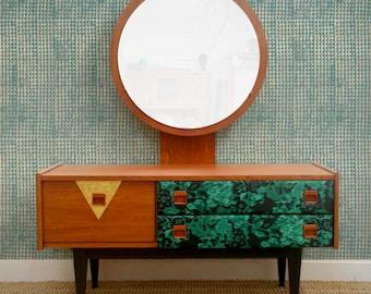Mid century teak dressing table
