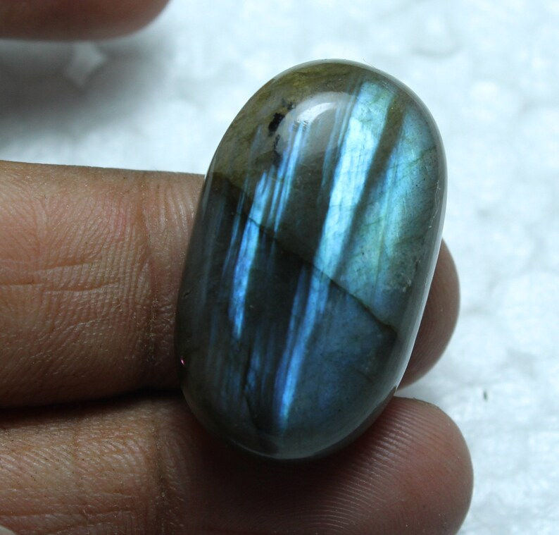 Pendant JewelryMaking Loose Labradorite Gemstone BL23 Beautiful Rainbow Fire Labradorite Cabochon 18x30mm Natural Raw Labradorite Gemstone