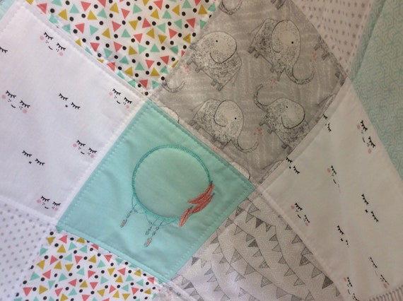 Tiny Dot Lawn Poly Cotton Delicate Fabric Nursery Bunting Patchwor Pale Blue