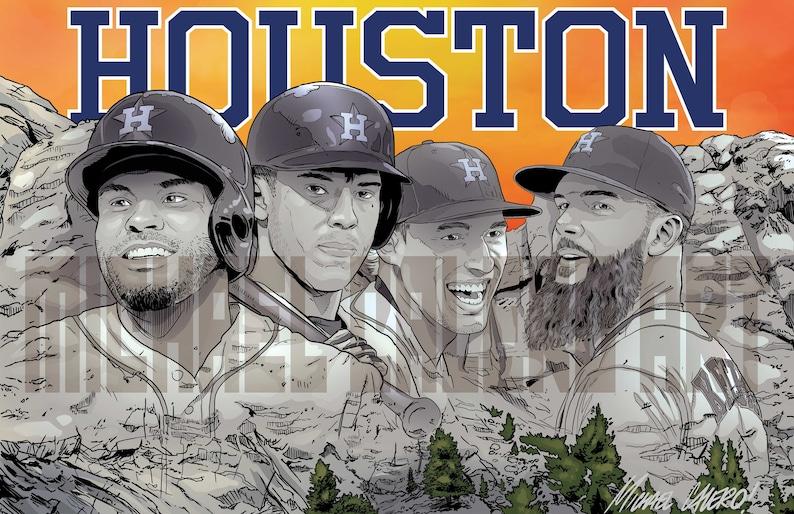 7a711f63a39 Houston Astros Mount Rushmore Jose Altuve Carlos Correa