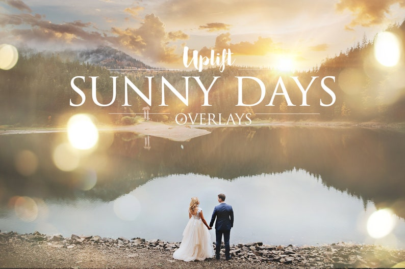 SALE 80% OFF Sunny Days Sun Flare & Sunburst Overlays for image 0