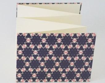 Leporello 11 x 16 cm, photo album, photo book