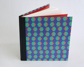 Notebook 21x21 cm, Drawing book, Diary, Art