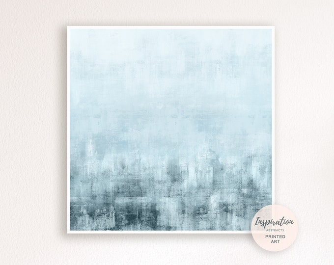 Minimalist Painting, Abstract Wall Art, Calming Wall Art, Beach House Art, Oversize Wall Art, 40x40 Art, Contemporary Art, Zen Art