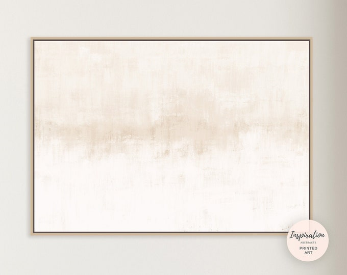 Minimal Canvas Art, Large Canvas Print, Minimalist Art, Lake House Decor, Zen Wall Art, Neutral Abstract Art, Abstract Art, Rothko Inspired