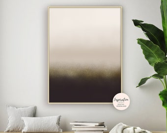 Calming Abstract Art, Minimalist Art, Neutral Wall Art, Scandinavian Art, Ombre Wall Art, Minimal Wall Art, Printable Art, Living Room Art