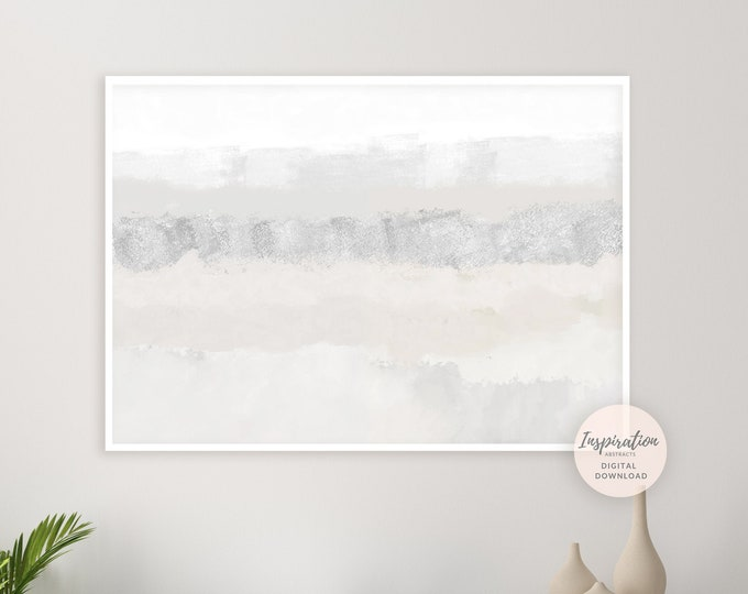 Minimal Abstract Painting, Mixed Media Art, Printable Art, Zen Wall Art, Living Room Decor, Large Wall Art, Abstract Art, Modern Wall Art