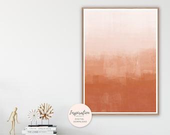 Burnt Orange Wall Art