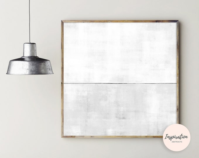 Oversized Abstract Art, 40 x 40 Art Print, Printable Painting, Minimal Art Print, Large Wall Art, Extra Large Painting, Contemporary Art