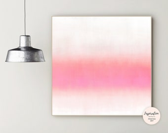 Minimal Abstract Art, Zen Wall Art, Extra Large Wall Art, Minimal Painting, Modern Wall Art, Living Room Decor, Rothko Inspired
