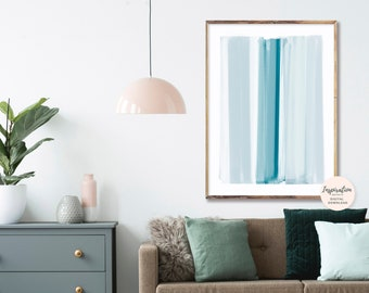 Minimal Abstract Art, Brushstrokes Art, Mindful Art, Oversized Wall Art, Scandi Wall Art, Living Room Art, Modern Art Print