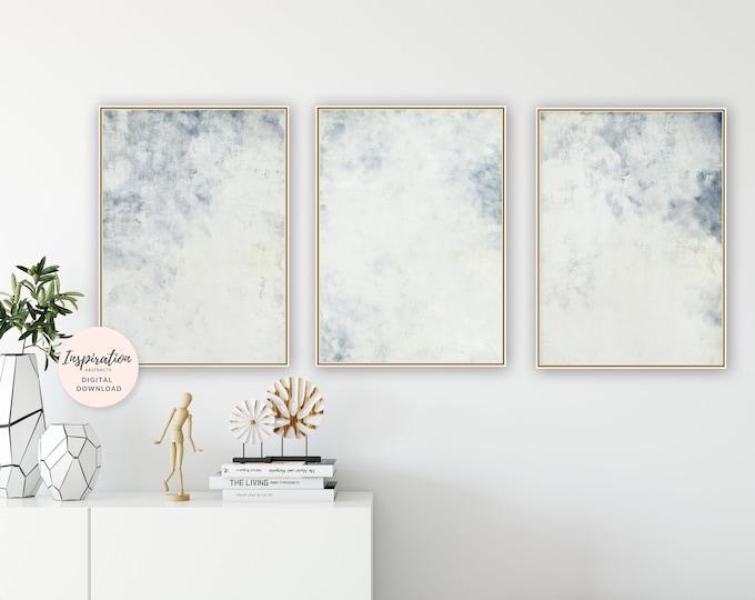 Minimal Art Prints, Set Of 3 Paintings, Abstract Art, Set of 3 Prints, Scandi Wall Art, 24x36 Art Prints, Large Wall Art, Modern Wall Art