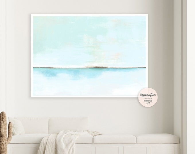 Landscape Painting, Canvas Wall Art, Minimalist Painting, Abstract Wall Art, Oversized Wall Art, Modern Art, Large Canvas, Coastal Decor