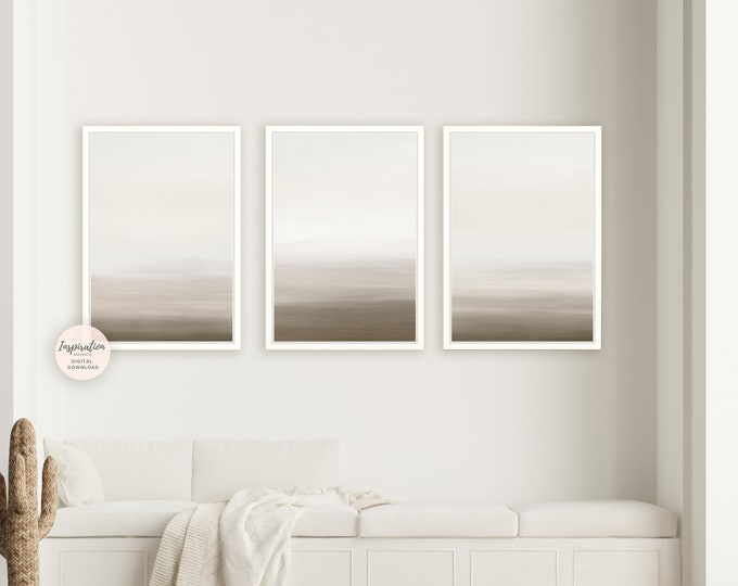 Minimalist Gallery Wall, Printable Art, 3 Piece Wall Art, Minimalist Wall Art, Minimal Paintings Modern Art, Zen Wall Art, Digital Prints