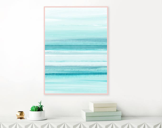 Soothing Abstract Art, Serene Painting, Downloadable Print, Watercolour and Acrylic  Art