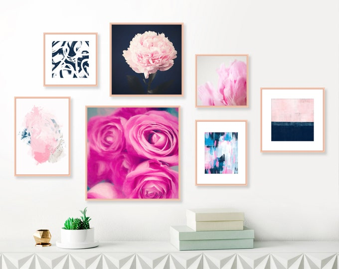 GALLERY WALL - PRINTED - Inspiration Abstracts