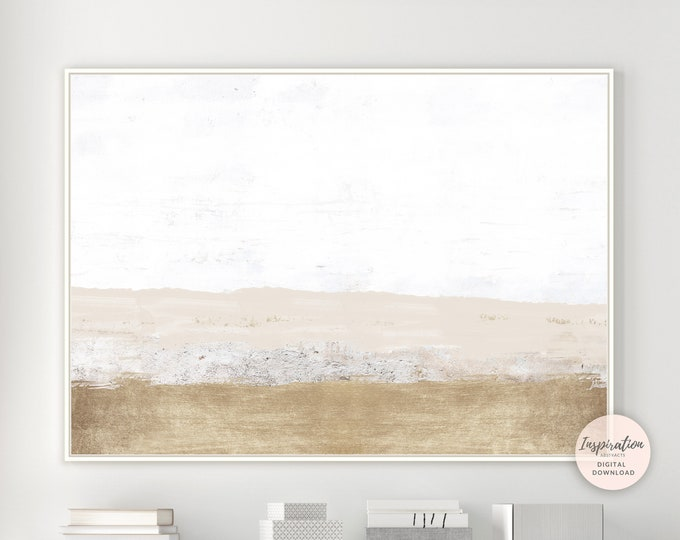 Modern Landscape Painting, Printable Wall Art, Minimalist Wall Art,  Abstract Art, Living Room Decor, Large Wall Art, Abstract Landscape