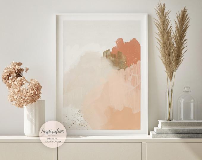Minimal Abstract Art, Mixed Media Art, Printable Wall Art, Minimalist Print, Downloadable Art, Modern Wall Art, Zen Wall Art, Nursery Decor