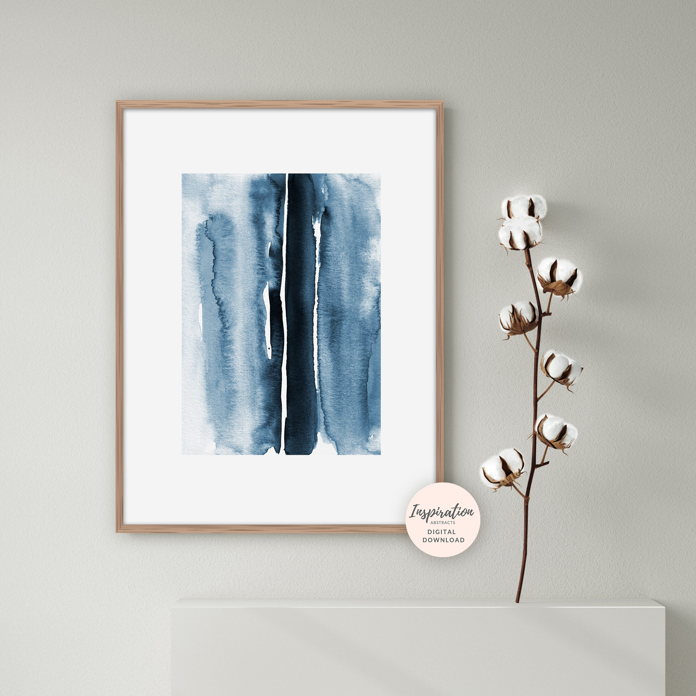 ABSTRACT ART NATURE TREES WALL ART POSTER A1 - A5 SIZES AVAILABLE