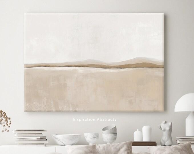 Minimalist Abstract Landscape, Large Canvas Print, Oversized Wall Art, Modern Art, Abstract Art, Landscape Painting
