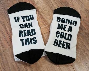 Bring Me A Cold Beer Short Socks