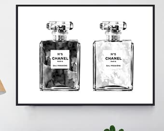 Chanel, Chanel Print, Coco Chanel, Gossip Girl, Mothers Day, Gift For Mom, Make Up Decor, Gift For Her, Gift For Girlfriend, Chanel Poster
