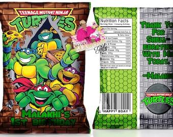 Ninja turtles party Etsy