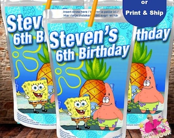 Popular Items For Spongebob Birthday