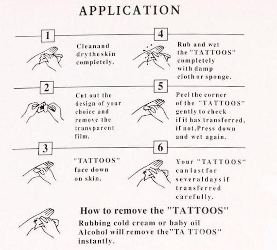 10 Miniature Semicolon Temporary Tattoos Tattoos Tattoo Etsy