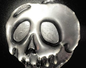 Flexible silicone Cabochon\Stampo poison Apple Big Creepy polishes